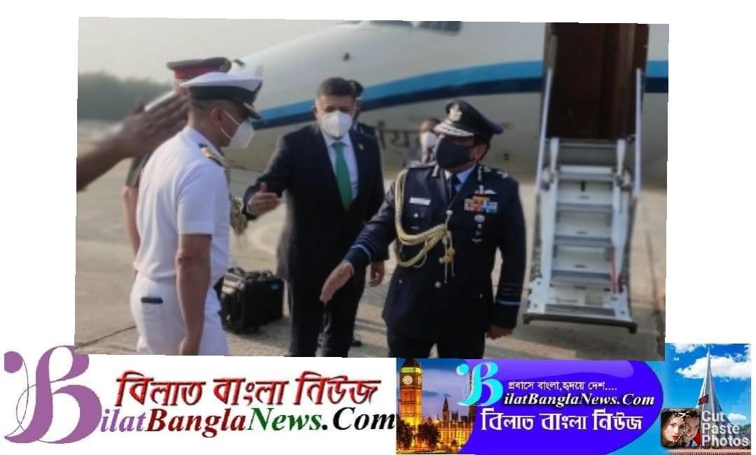 ভারতীয় বিমানবাহিনী প্রধান এখন ঢাকায়