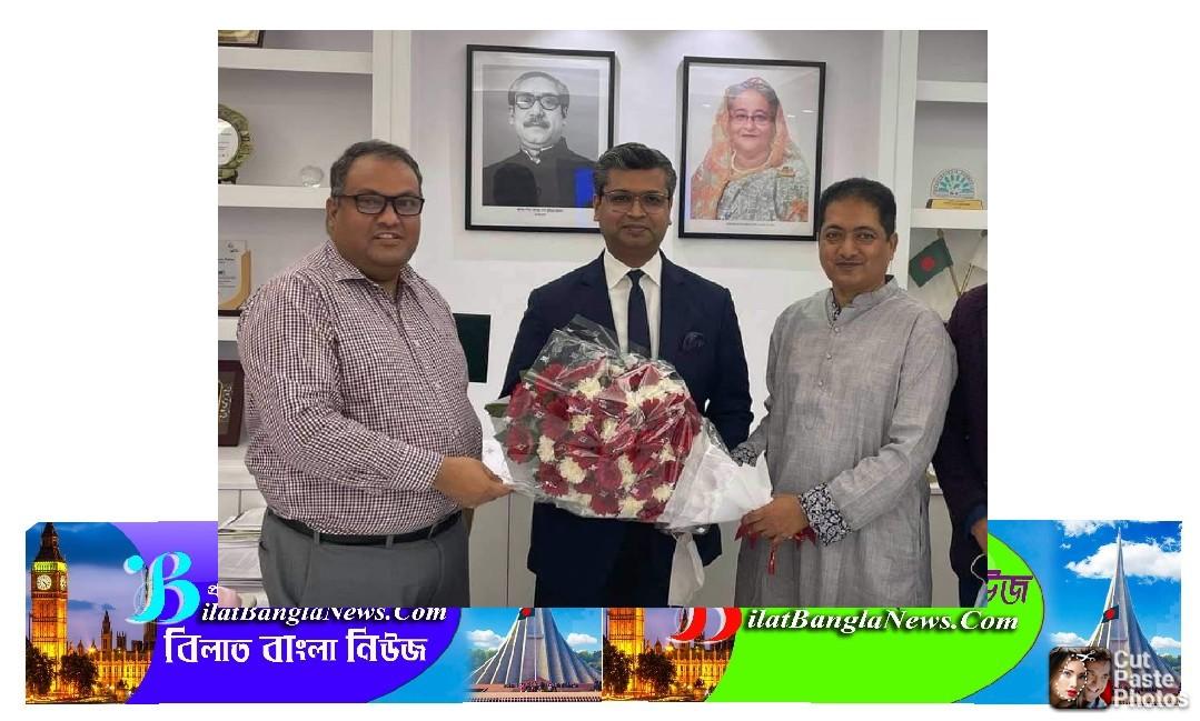 শেখ ফাহিম D8 চেম্বার সভাপতি হওয়ায় সুনামগঞ্জ চেম্বারের অভিনন্দন